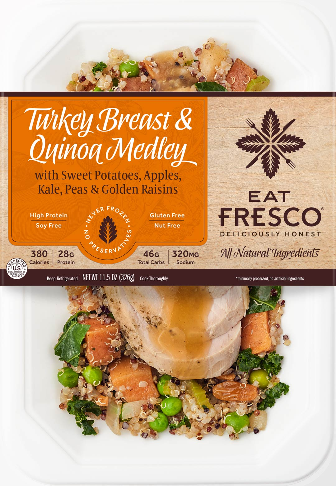 Eat Fresco - Entree - Dinner - Turkey Breast & Quinoa Medley