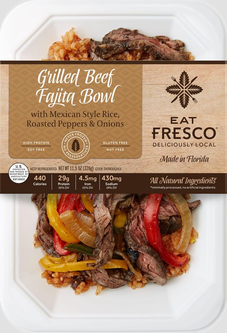 Grilled Beef Fajita Bowl