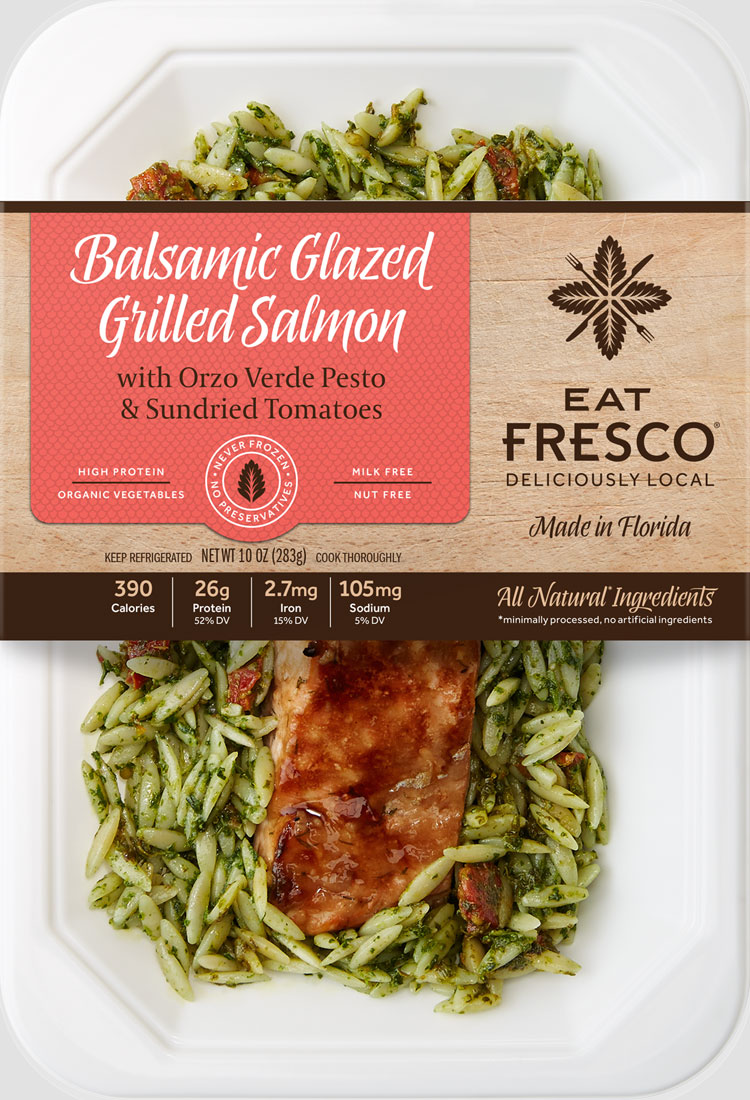 Balsamic Glazed Grilled Salmon