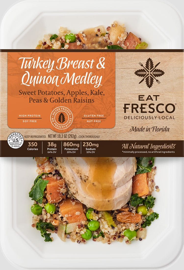 Turkey Breast & Quinoa Medley