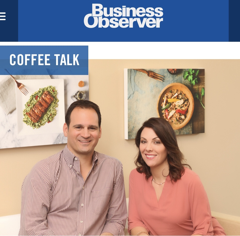 Rob and Tracy Povolny in Business Observer