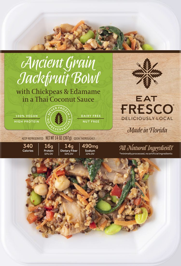 Ancient Grain Jackfruit Bowl