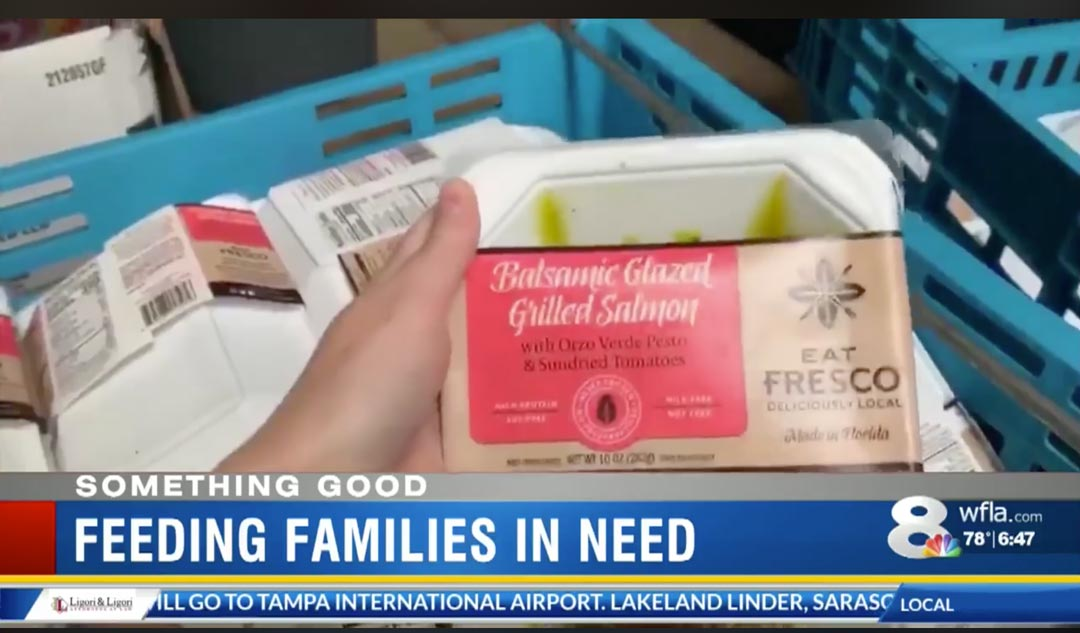 Eat Fresco In The News - Helping families in need during the coronavirus crisis