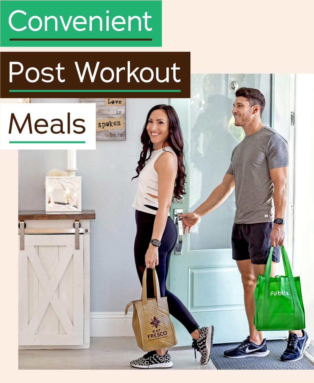 Convenient Post Workout Meals