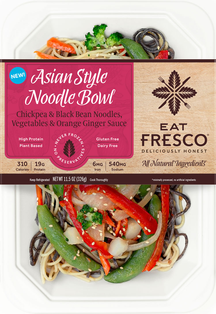 Eat Fresco - NEW - Asian Style Noodle Bowl