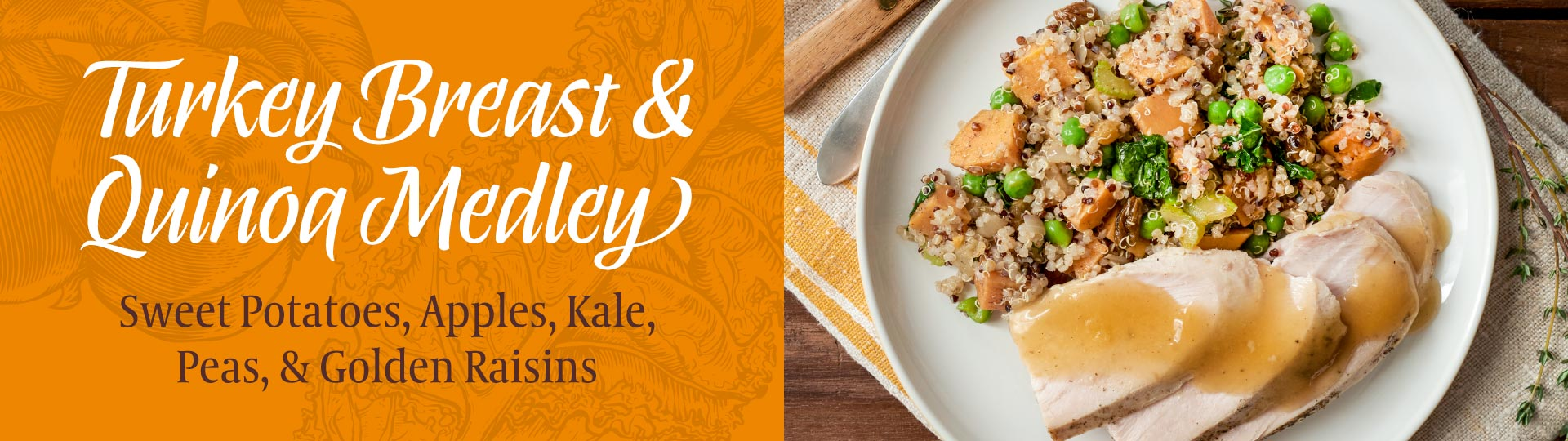 Turkey Breast & Quinoa Medley