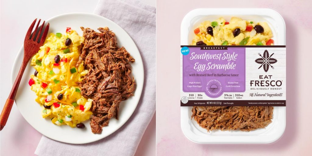 Southwest Style Egg Scramble