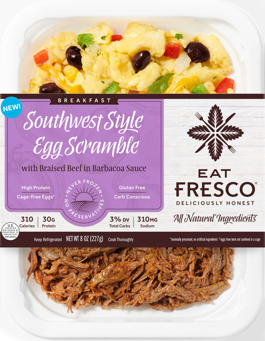 Eat Fresco - Breakfast - Southwest Style Egg Scramble