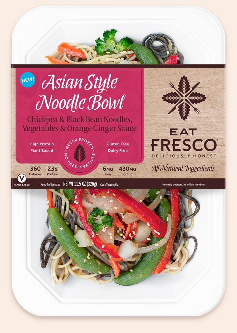 Asian Style Noodle Bowl - Eat Fresco