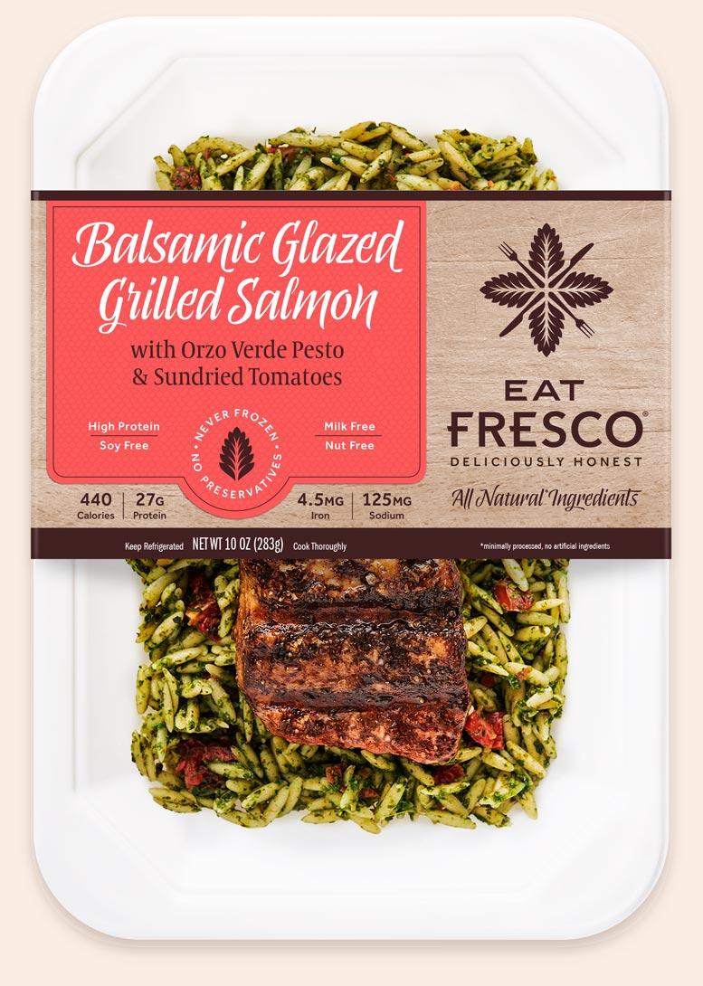 Balsamic Glazed Grilled Salmon - Eat Fresco
