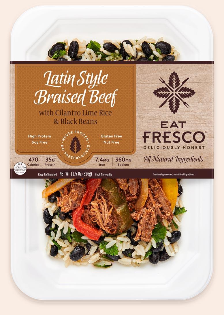 Latin Style Braised Beef - Eat Fresco