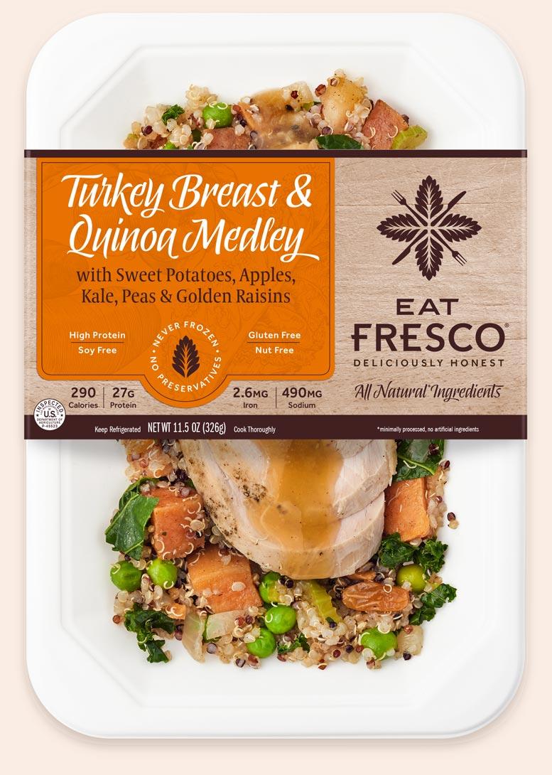 Turkey Great & Quinoa Medley - Eat Fresco